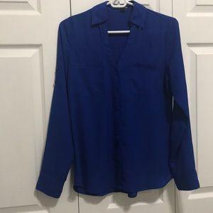 Express The Portofino Shirt Navy
